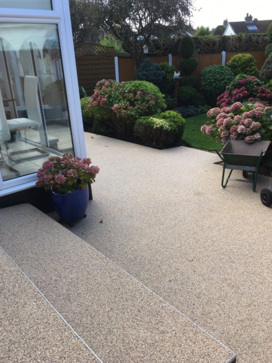 Resin Bound Gravel Patio by Blackpool Franchise