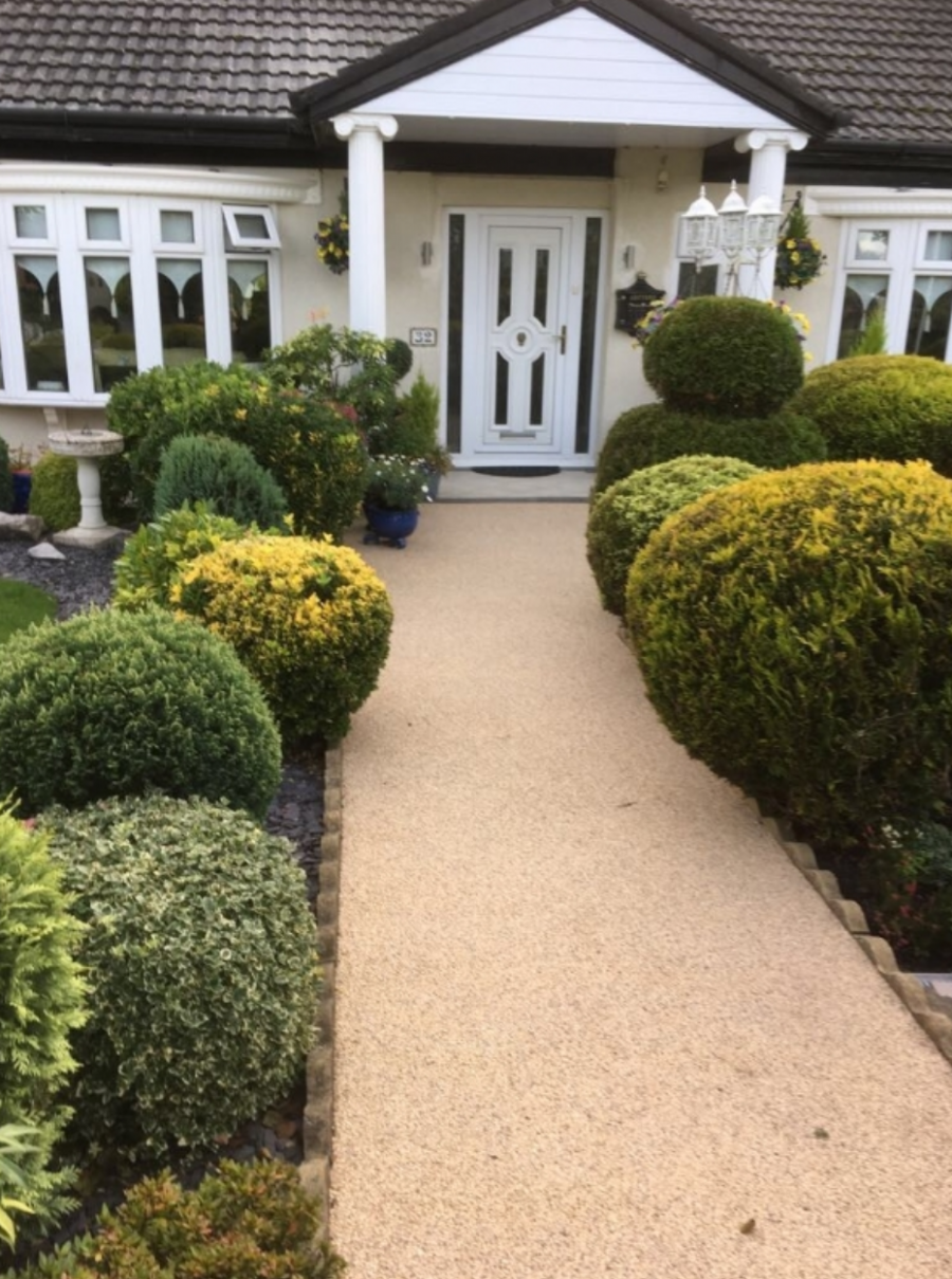 Resin Bound Gravel Path by Blackpool Franchise
