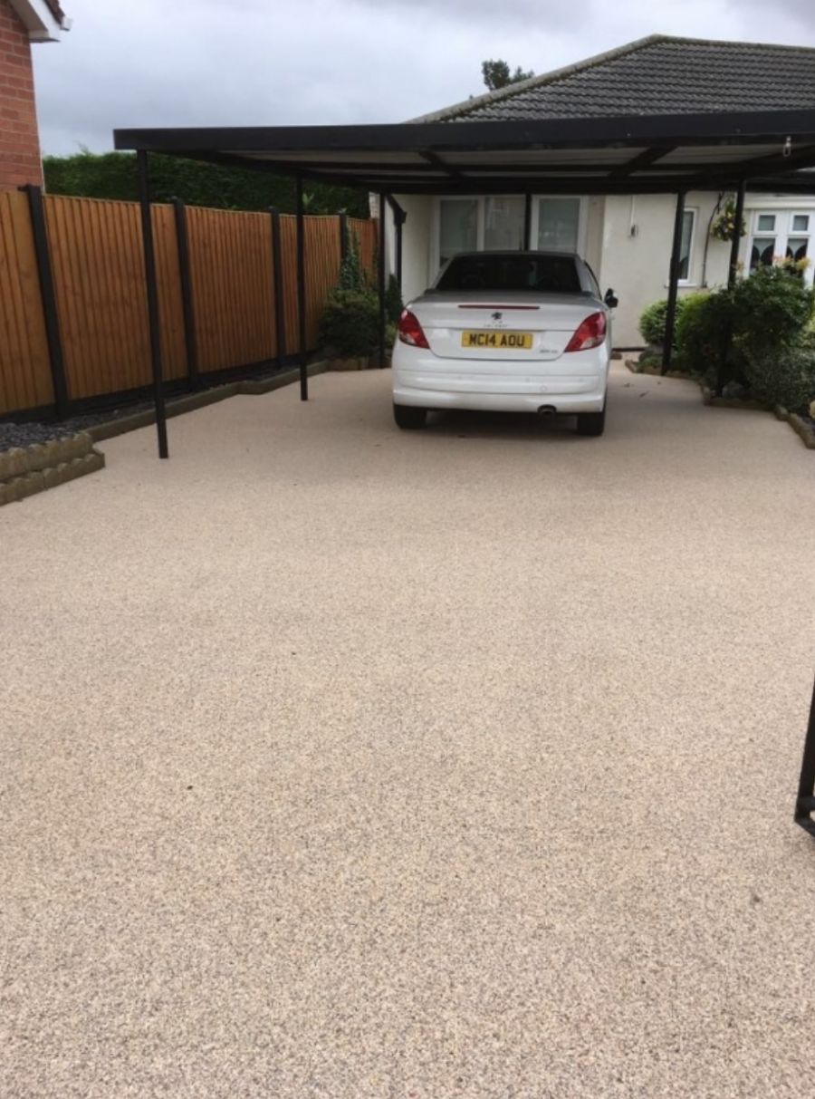 Resin Bound Gravel Driveway by Blackpool Franchise
